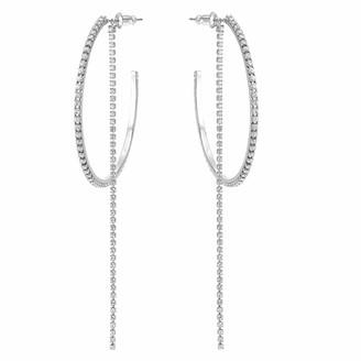 Swarovski Women's Fit Hoop Pierced Earrings