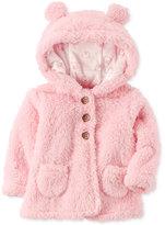 Carter's Hooded Fleece Jacket, Baby Girls (0-24 months)