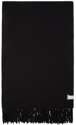 Rag & Bone Black Wool Classic Scarf