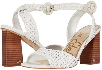 Sam Edelman Danee (Bright White Zebu Woven Leather) Women's Shoes