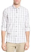 Michael Bastian Men's Button Down Spread Collar Sport Shirt