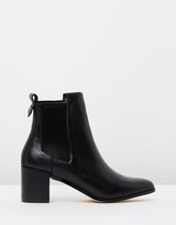 Briana Leather Ankle Boots