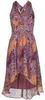 Nicole Miller Artelier leaf print dress