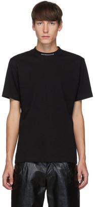 John Lawrence Sullivan Johnlawrencesullivan Black Jacquard Logo T-Shirt