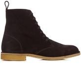 Bottega Veneta Lace-up suede ankle boots