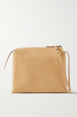 The Row Nu Twin Mini Leather Shoulder Bag - Sand