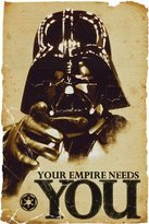 """Star Wars POSTER DARTH VADER YOUR EMPIRE NEEDS YOU (24""""x36"""")"""
