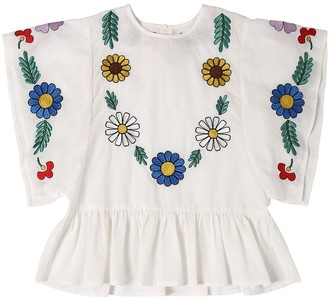 Stella McCartney Embroidered Organic Cotton Shirt