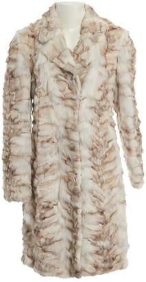 Prada Beige Fox Coat for Women