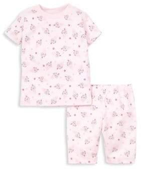 Kissy Kissy Baby Girl's & Little Girl's Cherry On Top Print Short Pajamas