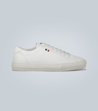 Moncler New Monaco leather sneakers