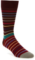 Paul Smith Men's Echo Stripe Socks