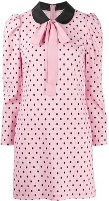 RED Valentino Polka Dot Shift Dress