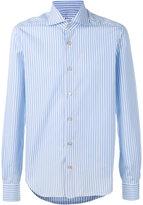 Kiton striped shirt - men - Cotton - 43