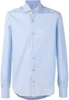 Kiton striped shirt - men - Cotton - 44