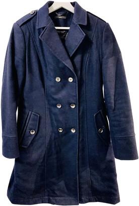 HUGO BOSS Navy Wool Coats