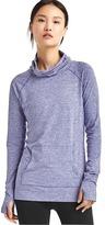 Gap Stripe mockneck pullover
