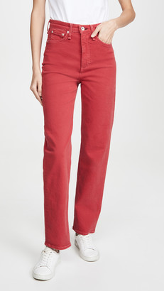 Rag & Bone Jane Super High Rise Cigarette Jeans