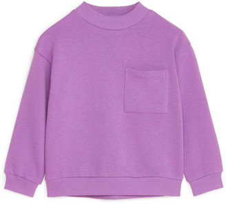 Arket Mock Neck Sweatshirt