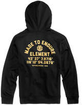 Element Men's Hub Logo-Print Hoodie