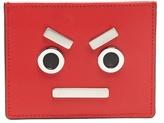 Fendi No Words Leather Cardholder