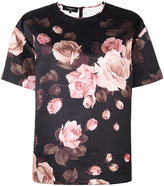 Rochas rose print blouse - women - Polyester - 40