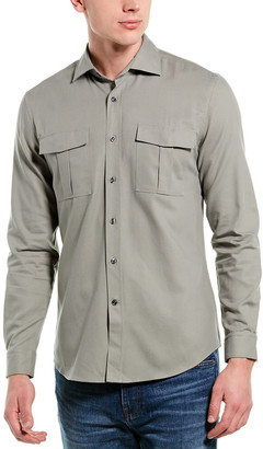 Reiss Cage Overshirt