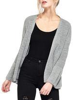 Miss Selfridge Open-Front Knit Cardigan
