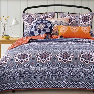 Greenland Home Fashions Medina Saffron Bedding Set