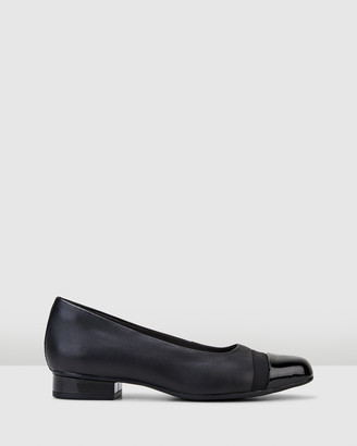 Clarks Women's Black Mid-low heels - Juliet Monte - Size One Size, 6 at The Iconic