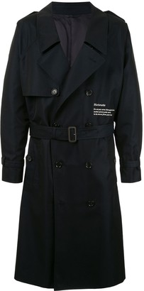 Doublet Marionette belted trench coat