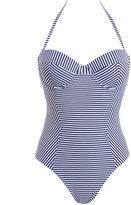 Tory Burch Striped One-piece Swimwear