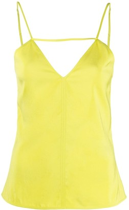 Bottega Veneta cut-out V-neck cami top