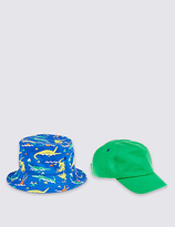 Marks and Spencer Kids' 2 Pack Hats