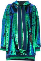 Mira Mikati sequin hoodie