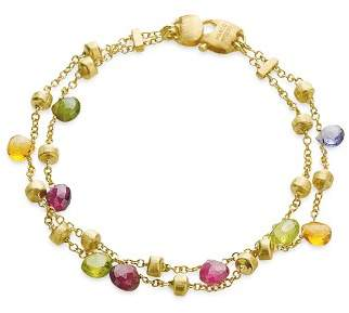 """Marco Bicego Paradise Collection"""" Two Strand Gold Bracelet"""