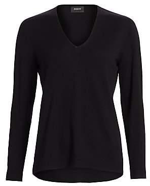 Akris Women's V-Neck Cashmere Sweater