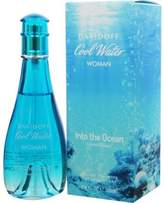 Davidoff Cool Water Into the Ocean Eau De Toilette Spray (2013 Limited Edition) - 100ml/3.4iz