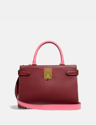 Coach Hutton Carryall In Colorblock