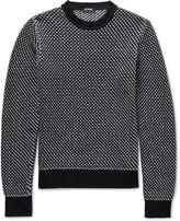 Raf Simons - Birdseye Cotton-blend Sweater