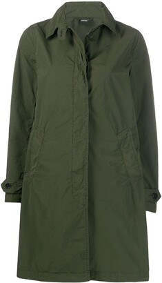 Aspesi Single-Breasted Midi Coat