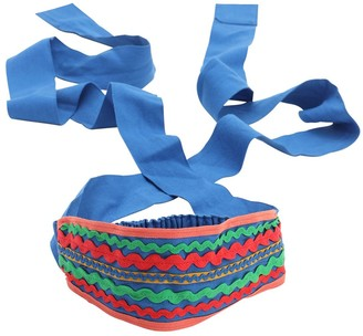 Tia Cibani Embellished Cotton Headband