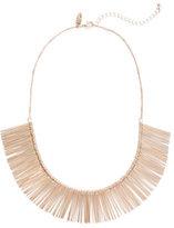 New York & Co. Goldtone Bib Necklace