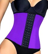 Xena Shapers LiLuv Women's Latex Steel Boned Compression Waist Trainer Corset Cincher and Body Shaper Girdle