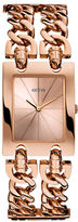 Guess Ladies Rose Gold Tone Watch W0073L2