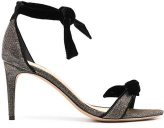Alexandre Birman Bow-Detail Mid-Heel Sandals