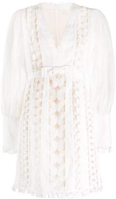 Zimmermann Butterfly Lace Insert Dress
