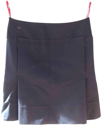 Christian Lacroix Black Cotton Skirt for Women Vintage