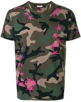 Valentino camouflage star print T-shirt