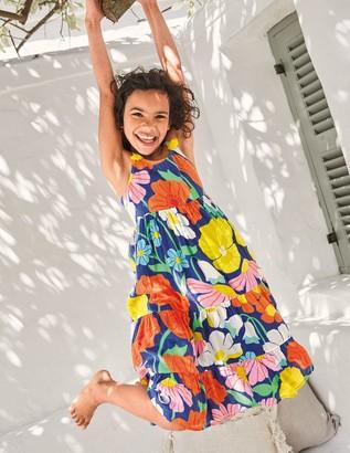 Boden Tiered Tassel Dress